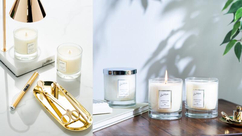 把家裡變成自己喜歡的樣子!Wstyle香氛蠟燭讓妳回到自己的空間,感覺就像住五星飯店一樣舒適放鬆,好心情滿滿~
