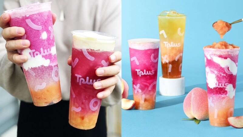 少女心噴發!繼光香香雞xTplus茶加水蜜桃季登場,打造3款超粉嫩的夢幻系飲品