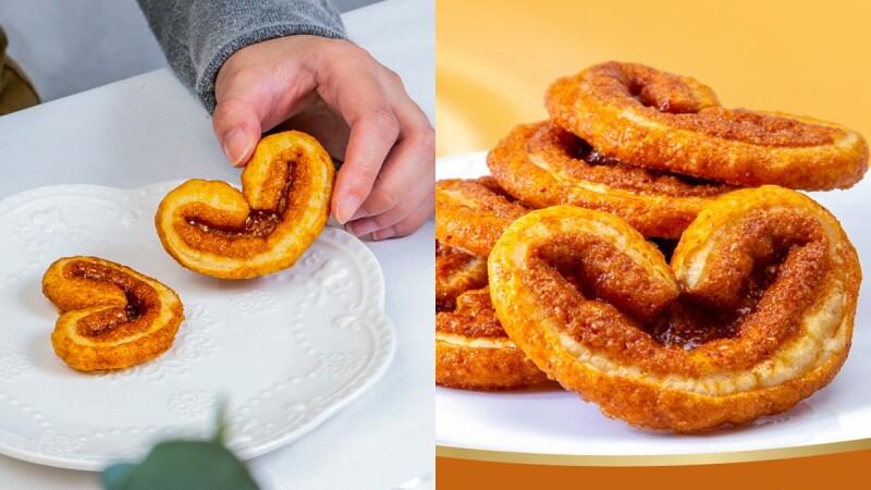 帕米貝可蝴蝶酥推出新口味了!「偉特奶油糖蝴蝶酥」焦糖奶香、2187道層次鬆脆口感,最療癒點心就是它