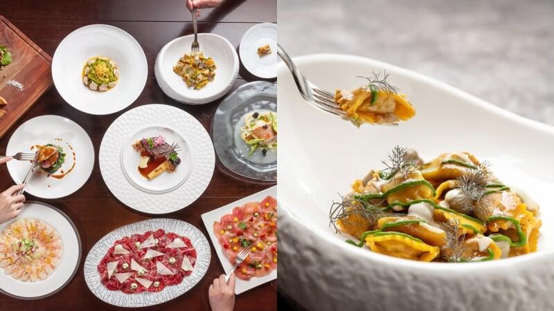 味蕾一秒飛到義大利!文華東方Bencotto義大利餐廳換春季菜單,當令鮪魚、紅蝦薄片、石斑鮮味逼人垂涎