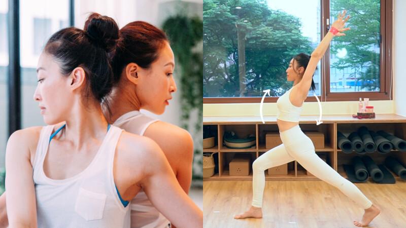 練起來!6組瑜珈彈力帶動作 手臂/小腹/大腿 一起瘦,還能翹臀!