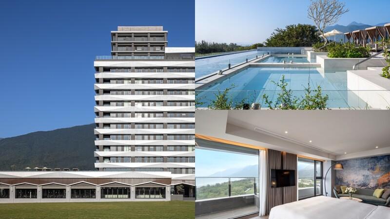 2021最新飯店「煙波花蓮太魯閣」開幕!大片落地窗引入山海絕景、無邊際泳池飽覽美景、沙灘走路就能到