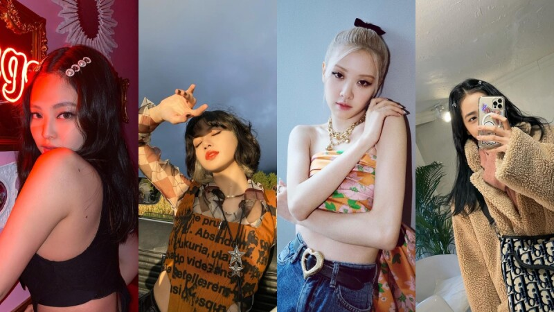 BLACKPINK 4大必學實用拍照pose ,Lisa 手喜歡這樣擺、這招Jennie Jisoo都愛用,學起來再也不怕鏡頭尷尬症!