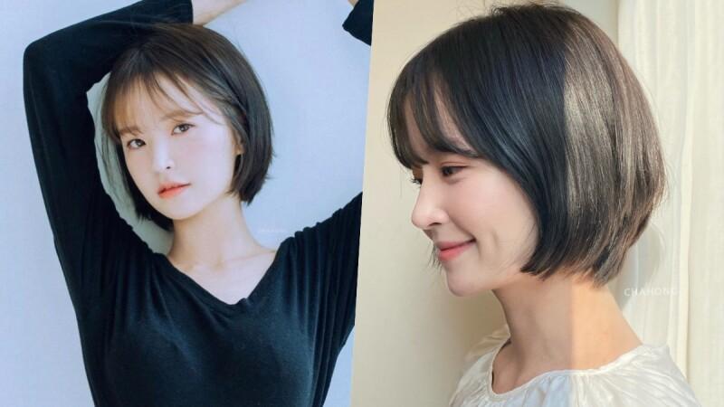 2021短髮造型推薦:復古日雜感十足的Bebe Cut,讓人秒變身初戀女孩!