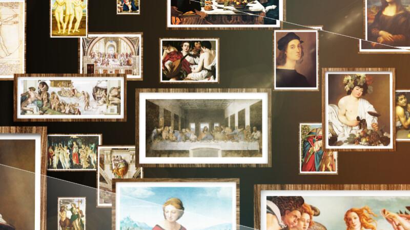 《會動的文藝復興》達文西、米開朗基羅名畫動起來!台北花博、高雄科工館暑假盛大聯展