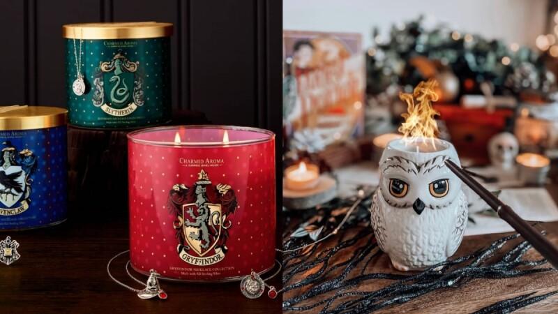 哈利波特聯名香氛蠟燭太精緻,燒完後竟然會出現小飾品!還有金探子、嘿美造型超值得魔法迷收藏