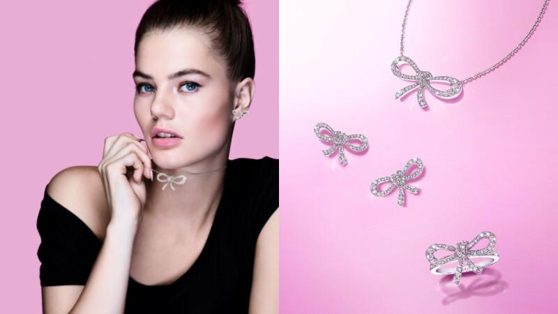 與GRAFF格拉夫的Tilda's Bow系列來一場瑰麗的邂逅,感受蝴蝶結鑽飾獨有的靈動柔美之姿!