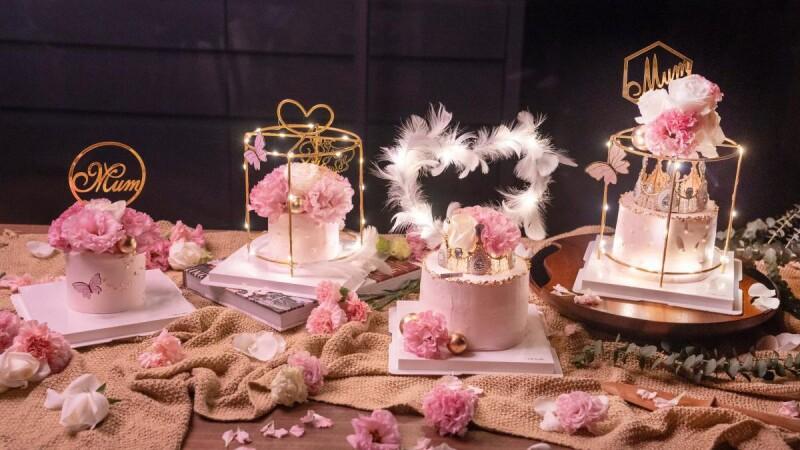 最美的母親節蛋糕!福岡人氣第一鬆餅推出4款絕美系蛋糕,加入玫瑰,皇冠、羽毛奢華度破表