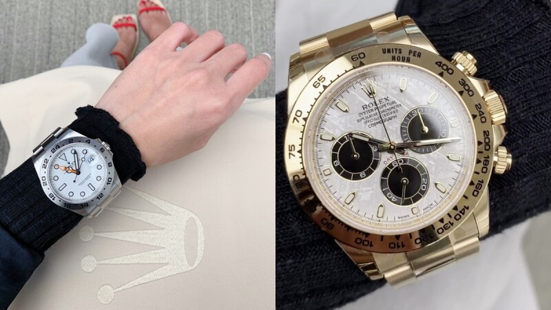 Rolex勞力士2021新款手錶一覽!Daytona隕石面、Explorer新機芯、Datejust棕櫚葉和坑紋圖案、Day-Date滿天星鑽...全系列男女錶、定價與試戴實錄