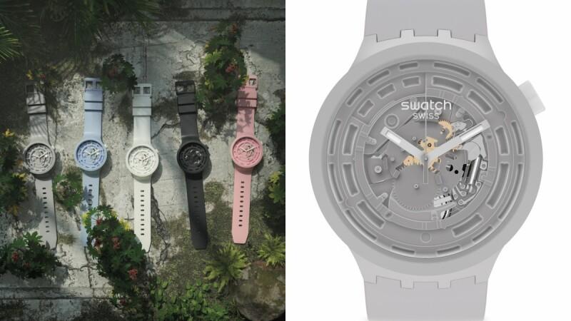 夢幻馬卡龍Swatch NEXT系列手錶問世!芭比粉、寶寶藍、迷霧灰、經典黑白...售價比你想得更好入手