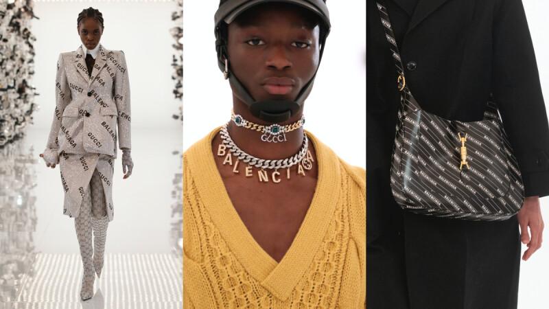 時尚大小事|Gucci 100週年首發時裝系列推出與Balenciaga的聯名大衣、包包與項鍊!