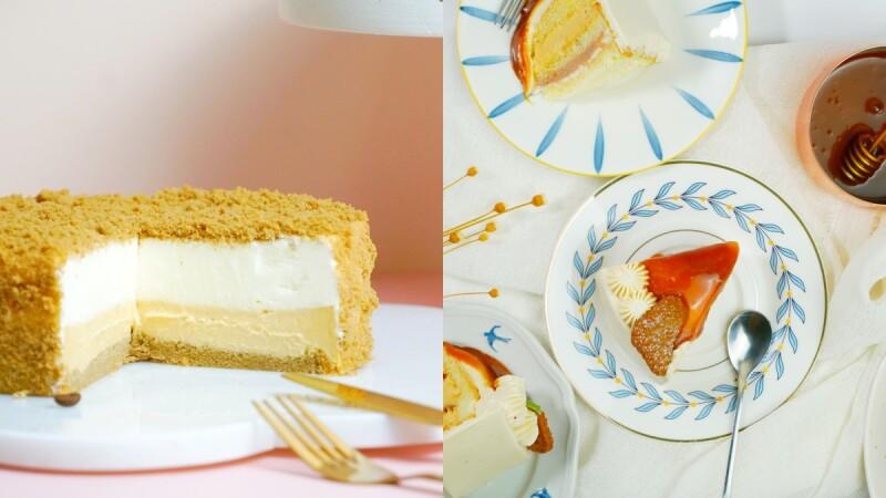 焦糖控快筆記!微甜室推2款海鹽焦糖蛋糕,搭配栗子、香濃起司、咖啡打造多層次的療癒系口感