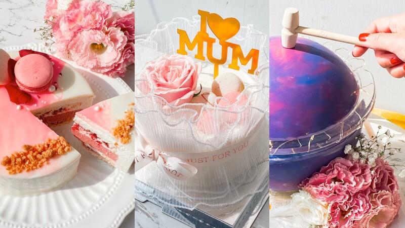 母親節蛋糕新選擇!波絲甜推3款浮誇系蛋糕,星球、玫瑰花束蛋糕絕美登場