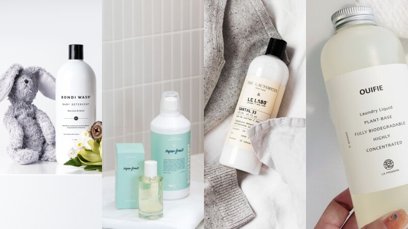 質感系香氛洗衣精推薦:The Laundress、BONDI WASH、KERZON、OUIFIE、LIVRER…從瓶身到味道都好舒服,洗完衣服自帶香氣