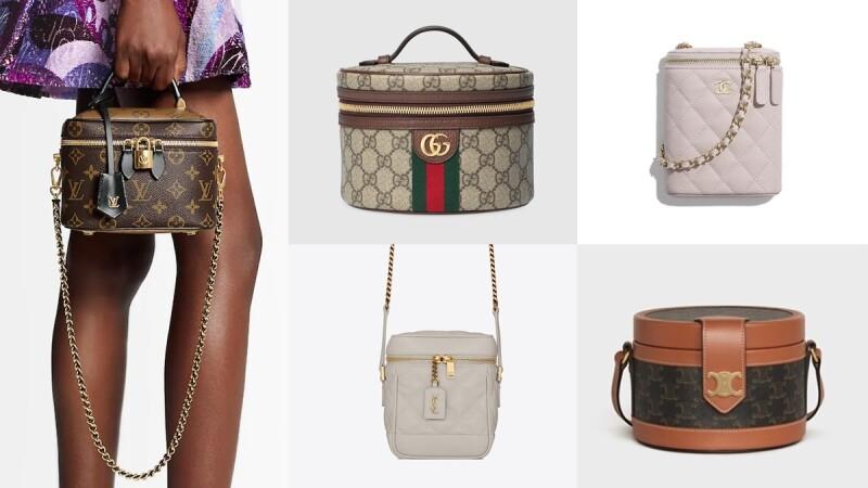 精品化妝箱包正夯!Gucci復古、LV老花、Chanel菱格紋、YSL氣質、Dior迷你…每一款都超難買