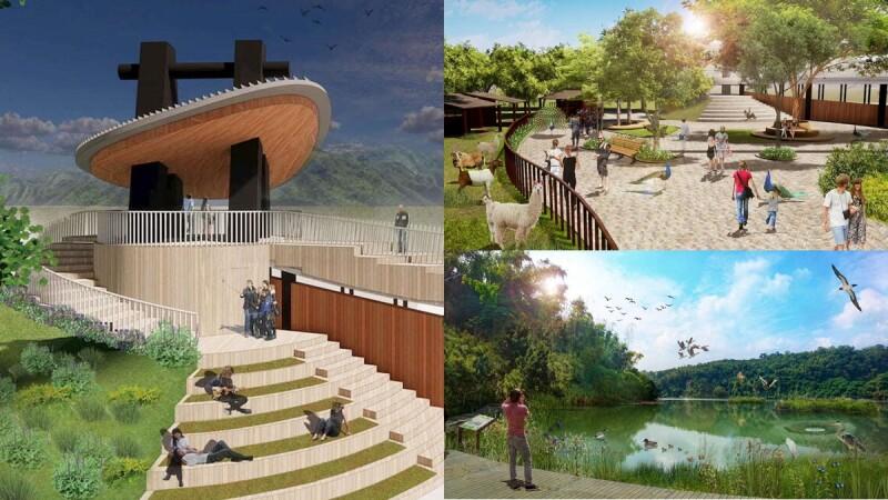 高雄全新動物園「內門動物園」4大特色搶先看!原生植物生態秘境、飛越叢林設施成必訪亮點,2023年底開幕