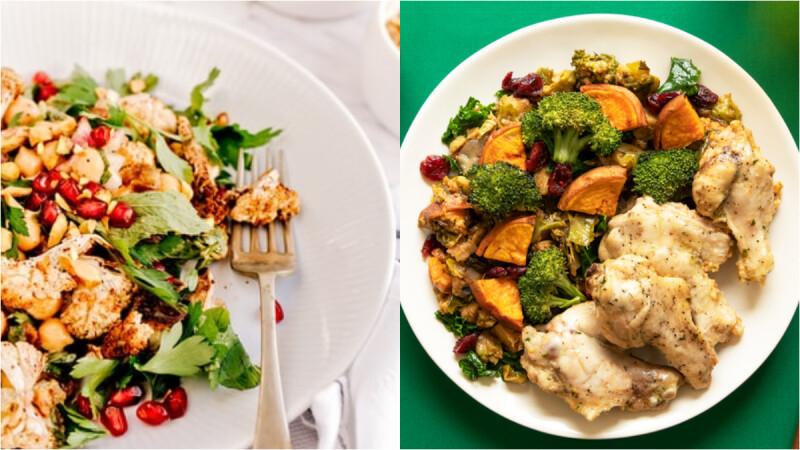 低脂美味!一吃體重就掉的料理:蒜香蘑菇煎花椰菜/鮮蝦白菜煲/豆腐黃金炒飯食譜來了