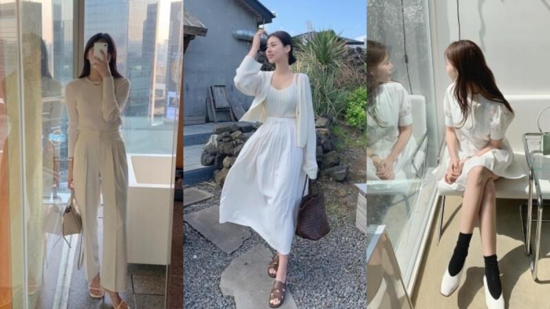 春天穿搭就該這麼仙!擁有天使光芒的「全白系穿搭」,打造讓人一眼愛上的清新氣質!