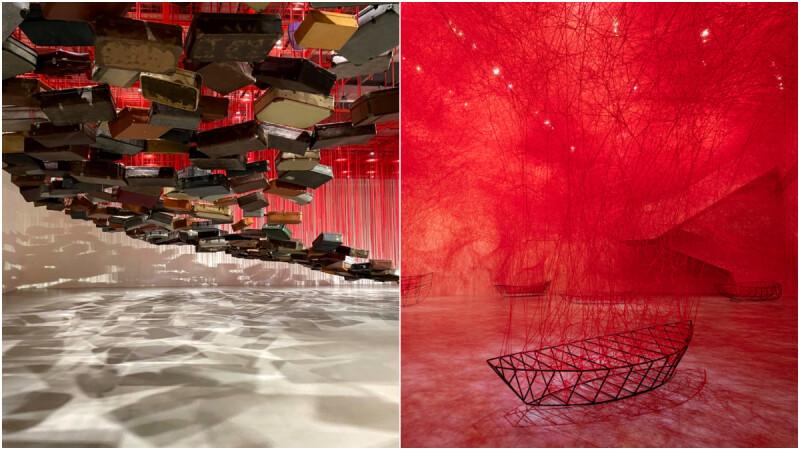 《塩田千春:顫動的靈魂》台北站北美館展覽亮點整理!既有規則框框外織羅出「不存在中的存在」