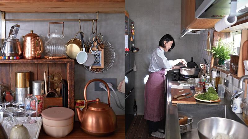 世界上最美好的地方—廚房 承載家族情感的廚房 哈利:「跟外婆、媽媽都在同個位置下廚對我來說是很有意義的一件事情。」