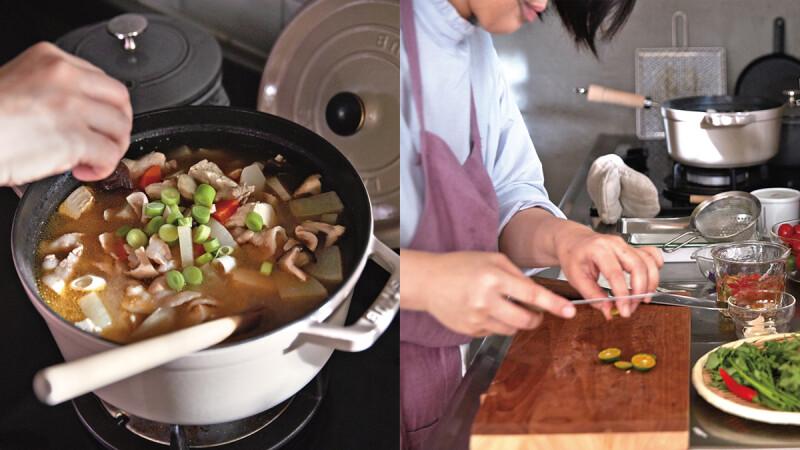 世界上最美好的地方—廚房 哈利的拿手菜—豬肉蔬菜味噌湯 とんじる