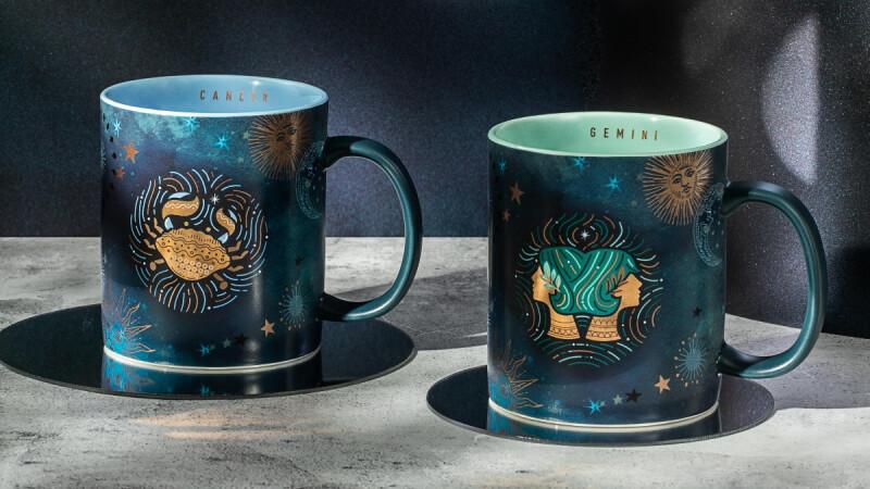 星巴克2021星座馬克杯來了!首波雙子座、巨蟹座5/12上市,神秘銀河藍杯身太想收藏
