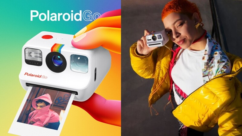 史上最小拍立得「Polaroid Go」問世!經典外觀縮小適合外出攜帶、底片能塞口袋,可愛到想立刻收藏
