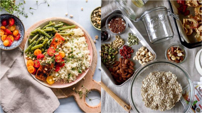 高蛋白低碳水低脂早午餐—蝦仁雞胸肉菠菜藜麥燴飯食譜來了!