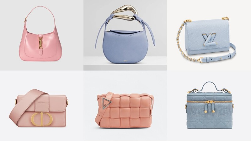 2021春夏馬卡龍包包推薦!盤點Dior玫瑰粉、Gucci櫻花粉、Burberry寶寶藍、Chloé紫羅蘭…超過10款夢幻精品包