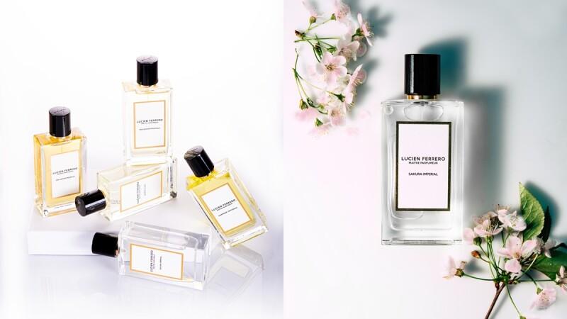 調香大師同名香水Lucien Ferrero 2021引進台灣,以愛為名的香水太浪漫
