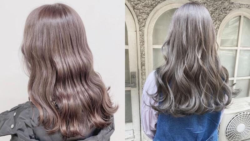 2021髮色推薦:Greige染髮日本髮廊正夯,具有日妞最愛透明感又顯白襯膚!