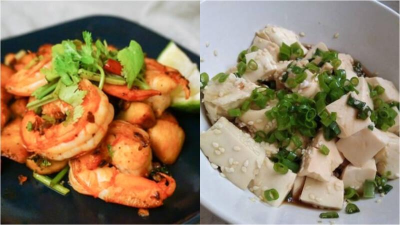 3道低脂涼拌小菜:手撕雞/蔥花豆腐/酸辣蝦 食譜來了