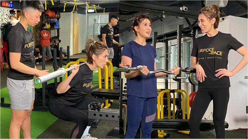 【手臂中階訓練】手臂小肌群/二頭肌/三頭肌練起來|小禎愛健身#7