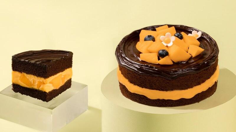 芒果控的最愛!BAC「鮮芒果礦石蛋糕」秒殺王敲碗回歸,從外層到內餡加入爆量芒果,每口都充滿幸福感