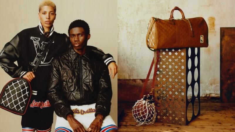LV X NBA第二波聯名開賣!籃球、籃網變身精品包包,首次推出LV老花籃球組