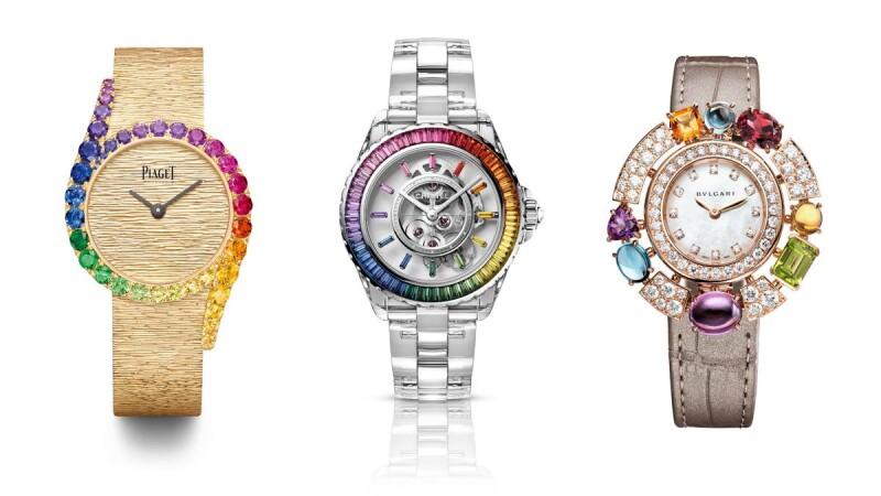 2021W&W手錶 BVLGARI彩色寶石、Chanel J12 Electro限定錶、Piaget伯爵Limelight Gala...收一道彩虹