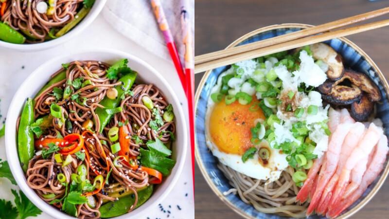 無敵好吃、香噴噴的低GI高蛋白青椒蛋炒蕎麥麵食譜來了!
