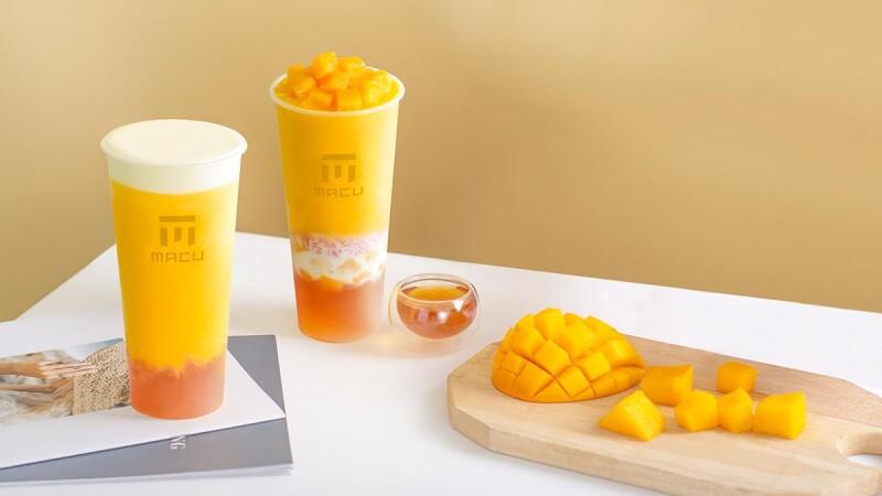 楊枝甘露來了!麻古茶坊必喝的楊枝甘露2.0、芝芝芒果果粒強勢回歸,芒果控們準備好開喝