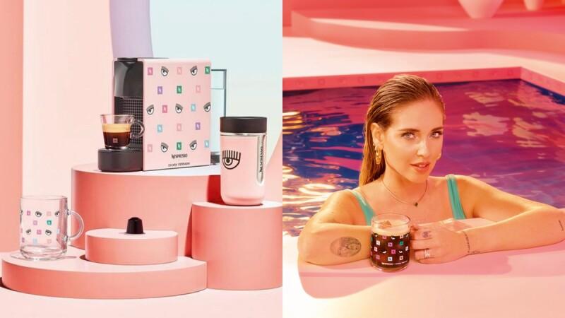 台灣開賣了!Nespresso與時尚網紅企業家Chiara Ferragni聯名打造咖啡機等5款夢幻周邊,粉紅眨眼設計超時髦