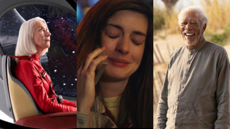 美劇《Solos》集結安海瑟薇、海倫米蘭、摩根費里曼超大咖演出!7段故事讓你又笑又淚:「我們都用不同的方式處理孤獨。」