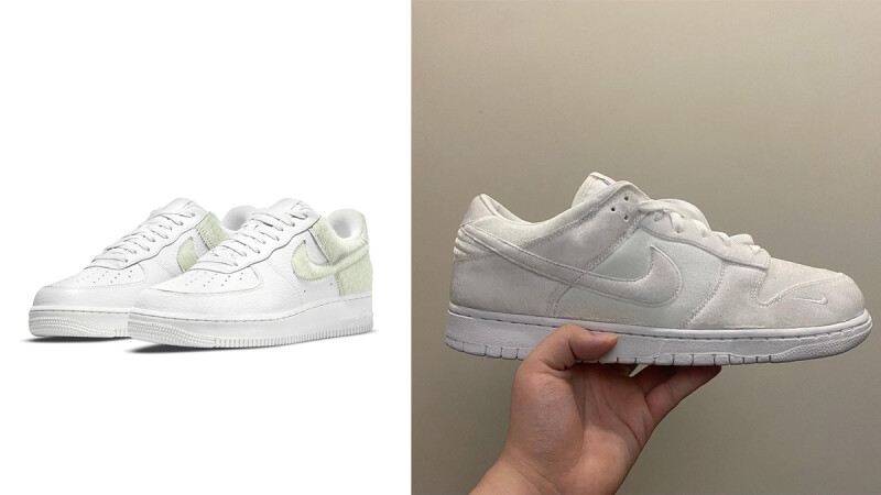 Nike「毛絨」球鞋新趨勢!Dover Street Market聯名款換上絨毛新裝,最新Pony Air Force 1這天上市