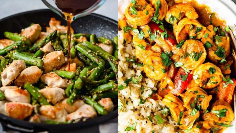 3道夏日清爽低脂炒菜:芹菜彩椒炒木耳、扁豆蒜炒雞丁、咖哩蝦仁蛋炒飯 食譜來了!