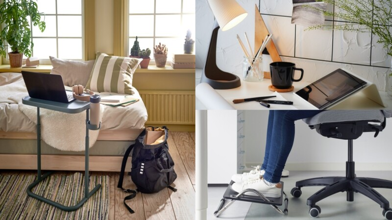 WFH高效率神器!IKEA推薦7大居家工作好物,高CP值工作燈、涼感腰部靠枕讓上班更舒適