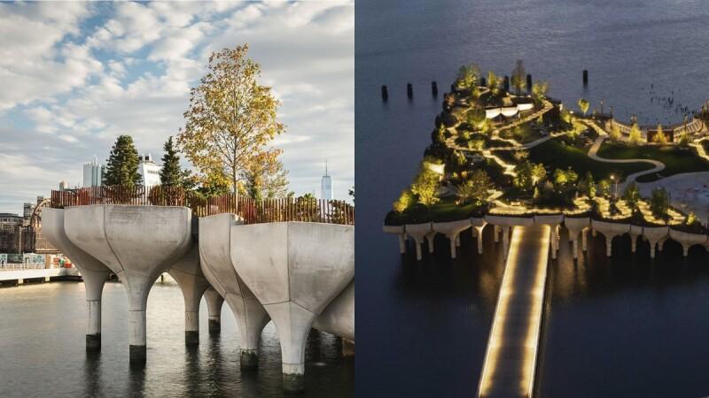 紐約最新地標「Little Island」開放!如漂浮水上、由132朵鬱金香撐起,英國設計鬼才又一必朝聖力作
