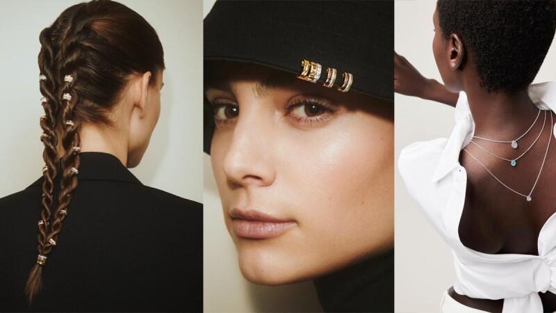 防疫在家要幹嘛?跟著Boucheron設計師一起玩穿搭:胸針當帽飾、耳環與編髮結合、戒指成項鍊、手鍊變腰帶...