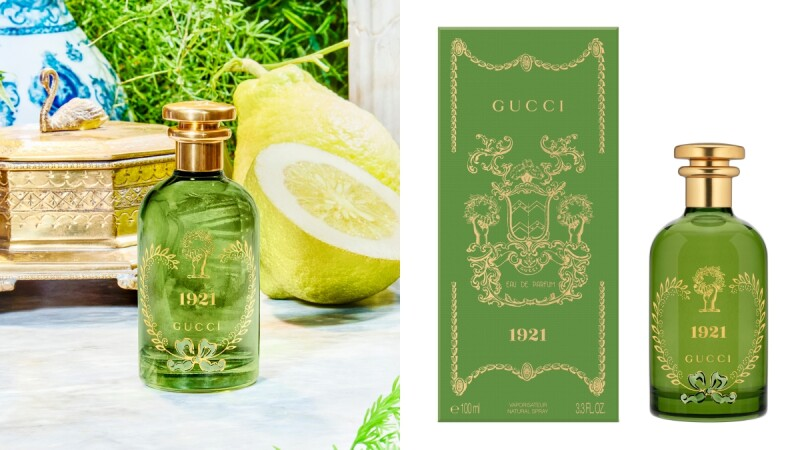 Gucci創立100年紀念香水!煉金士花園系列香水新香1921翡冷翠,橙花+香水檸檬果香向佛羅倫斯致敬