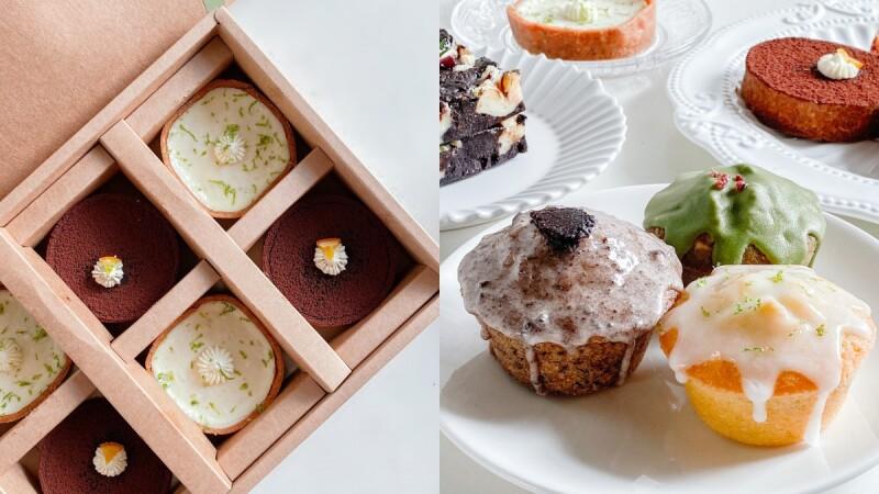 隱藏版宅配甜點!Ca'Bow Pastry推網購甜點,在家也能吃到美味檸檬塔、抹茶磅蛋糕