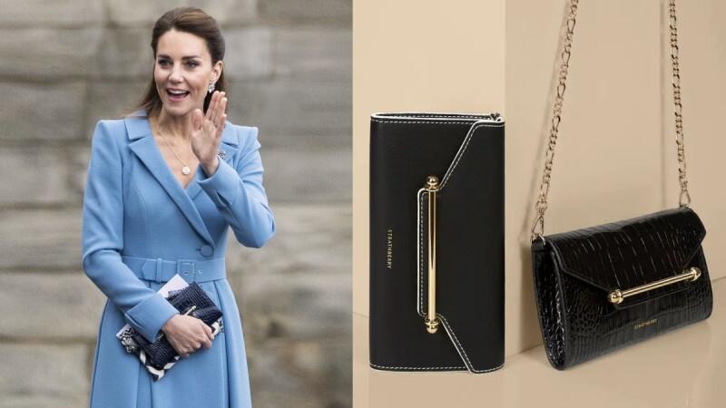 台灣也能買到!凱特王妃出席活動拿的Strathberry手拿包限量補貨,居然只要台幣1萬