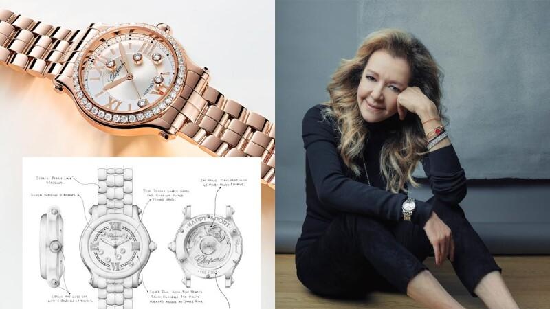 專訪Chopard創意總監:Happy Sport手錶與品牌獨家滑動鑽石的工藝秘辛,及揭密她的快樂妙方