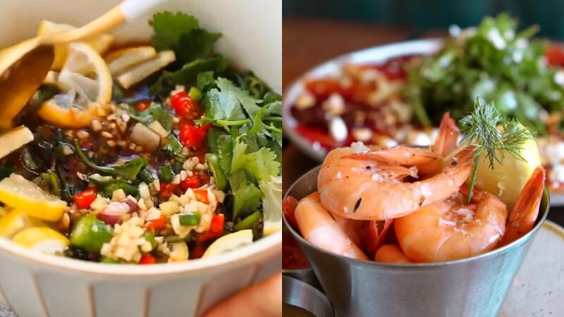 3道夏日低脂涼拌菜:韓式拌豆芽/酸辣涼拌蝦/香辣涼拌花椰菜 食譜來了!